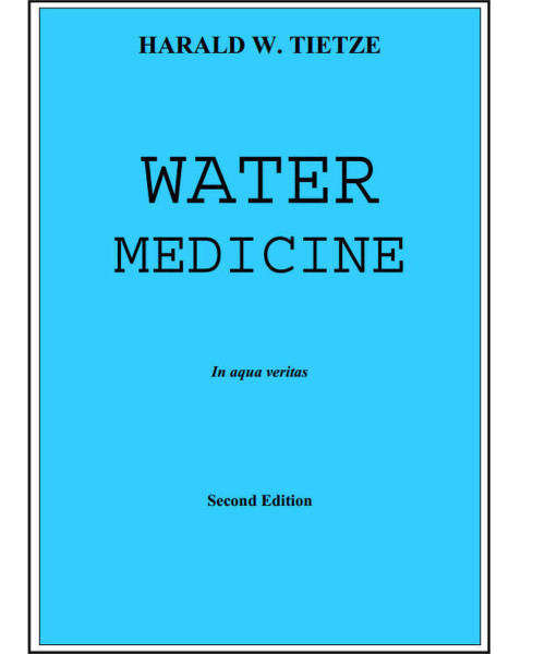 Water Medicine by Harald W. Tietze