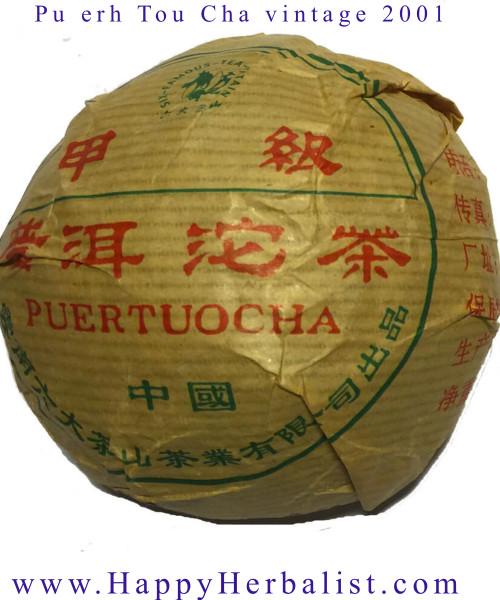 Great Pu erh Tou Cha