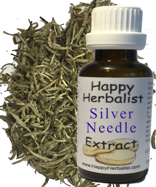 Silver Needle White Hair Tea Alcohol Free Extracts