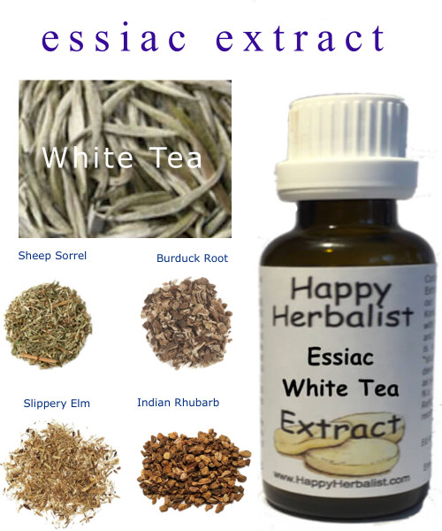 WE added Silver Needle White Tea a well respected antioxidant and cancer fighter