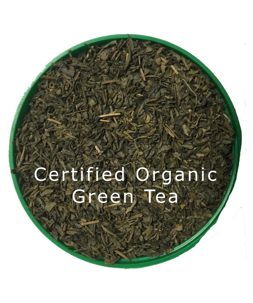 Green Tea Organic Silver Leaf Green Tea