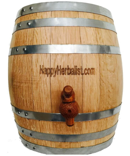 2 1/2 Gallon all Oak Cask. 10 Liter American Oak Medium Toast Perfect for 2 or more.
