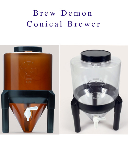 8 Gal Conical Fermenting System by Brew Demon