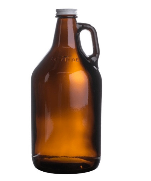 64 oz Amber Growler