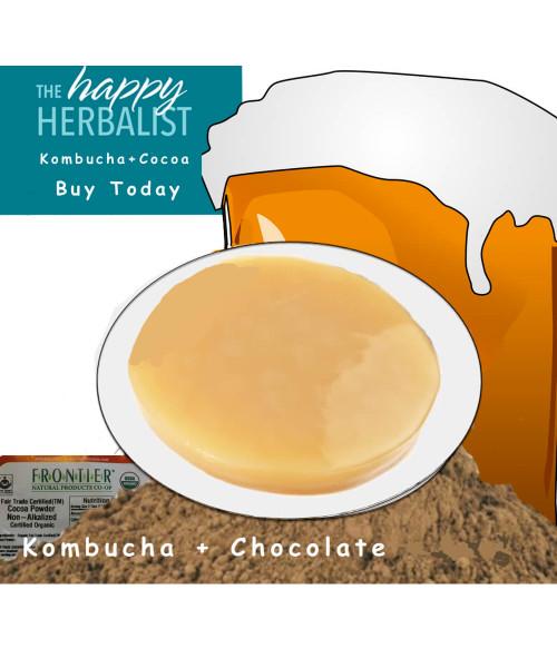Kombucha Special. Kombucha Cocoa Tea