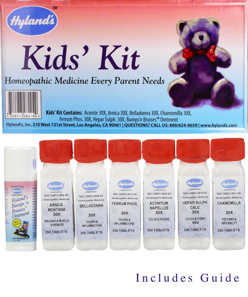 Hyland's Kids' Kit  Homeopathic medicine