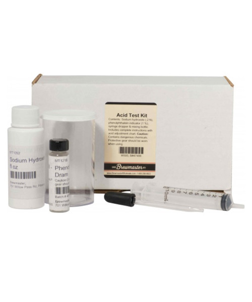 Acid Test Kit for Home Brew and Juices