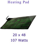 "Heating Mat 48"" x 20 "" 107 watts"