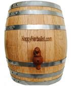 20 Liter = 2 1/2 Gallon American Oak