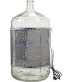 FermWrap on 5 Gallon Glass Carboy
