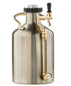 uKeg 64 Keeps 64 fluid ounces of your favorite brew nicely carbonated and fresh.