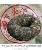 Xia Guan Tou Cha Pu erh Small Birds Nest