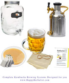 HappyHerbalist Complete Kombucha Brewing System