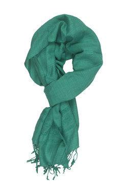 In-Sattva Colors - Elegant Solid Color Scarf Stole - Green
