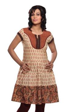 Women's Printed yoke Mix N Match Kurta