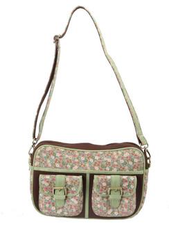 Ivory Tag Minted Floret Crossbody Bag ‰ÛÒ Front