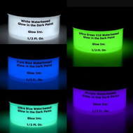 Water-Based Glow in the Dark Sample Pack