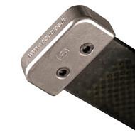 Double S Aluminium Rasp End Cover