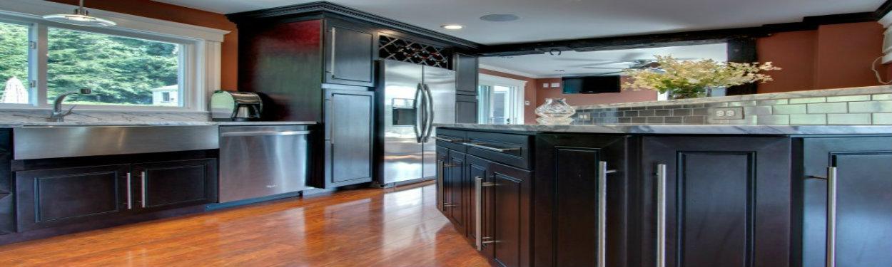 J&K Espresso Maple Cabinets