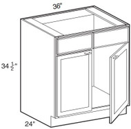 "Gregi Maple Sink Base Cabinet   36""W x 24""D x 34 1/2""H  SB36"