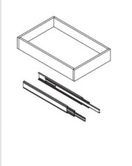 """Roll Out Tray for 21"""" Cabinet"""