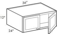 Dove White  W361224 Wall Cabinet