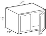 Dove White   W361524 Wall Cabinet