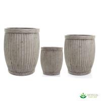Planter Barrel Set
