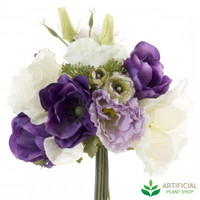 Poppys Purple Bouquet 30cm (set of 6)