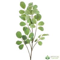 Green Leaf Flocked Branch 176cm (pack of 3)