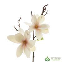 White Magnolia Spray 70cm (pack of 6)