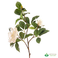White Gardenia Spray 80cm (pack of 6)