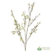 White Japanese Blossom Spray 1.1m (pack of 6)