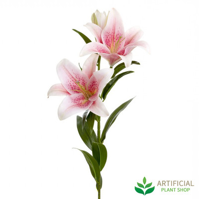 Pink Lily - real touch 90cm (bundle of 6)
