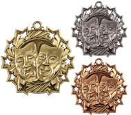 Drama Ten Star Medal - Gold, Silver & Bronze