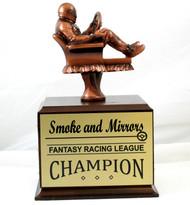 Fantasy Racing NASCAR Armchair Perpetual Trophy