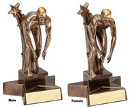 Swimming Superstars in Action Trophy – Male / Female