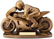 Racing Motorcycle Resin Award RF2032