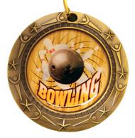 Gold Bowling World Class Medal