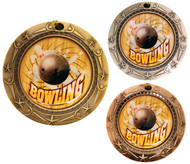 Bowling World Class Medal - Gold, Silver & Bronze