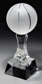 Basketball Crystal Trophy
