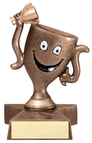 Winner's Cup Lil' Buddy Trophy LBR54