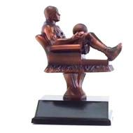 Basketball Fantasy League Armchair Trophy | Fantasy Hoops League Award | 6.5 Inch Tall