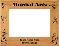 Martial Arts / Karate Picture Frame - Personalized