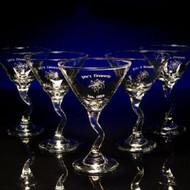 Martini Z-Stem Glasses - Personalized