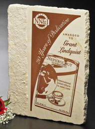 Accent Limestone Plaque Award