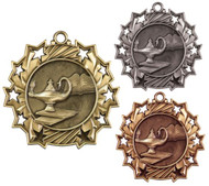 Graduate Ten Star Medal - Gold, Silver & Bronze