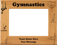 Gymnastics Picture Frame - Personalized