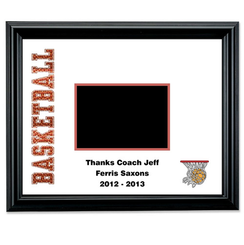 Basketball Autograph Picture Frame | Basketball Team Autograph Photo ...