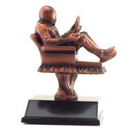 Racing Fantasy League Armchair Trophy   Fantasy NASCAR League Award   6.5 Inch Tall